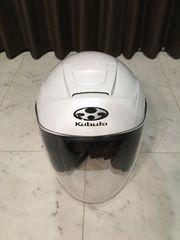 kabuto カブト ジェットヘルメット 白 バイク用 Mサイズ