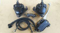 Z400FX ダブルキャリパー&マスター一式セットGS400CBX400Z550FXゼファーZ2ディスク