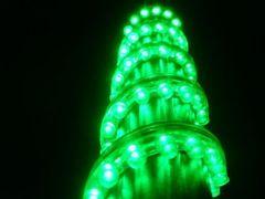 超発光/防水 LEDチューブ 120�p グリーン/緑