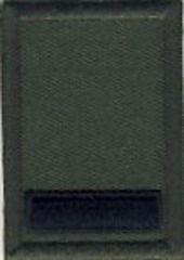 陸上自衛隊 新型 迷彩作業服3型用 階級章 准陸尉