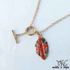 リップ イギリス 国旗 フラッグ ネックレス 唇 KINGDOM LIPS 176