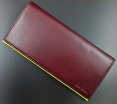 新品☆ポールスミス 高級イタリアンカーフレザー 長財布 n262