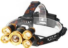8000ルーメン超強力ヘッドライト LED 4モード 防水
