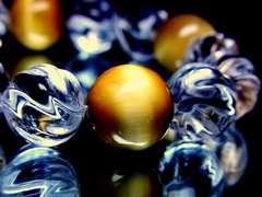 トルネードスクリュー水晶§ゴールデンタイガーアイ黄金虎目石§14ミリ