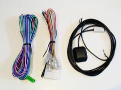 アゼスト クラリオン MAX940ナビ用 電源,車速,GPSアンテナSET