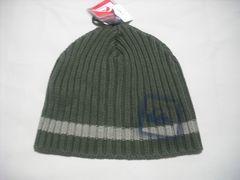 mb685 男 QUIKSILVER クイックシルバー ニット帽 ビーニー 緑