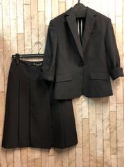 新品☆7号トールサイズ春夏向き7分袖スカートスーツ☆s807