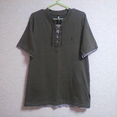 新品レイヤードTシャツM