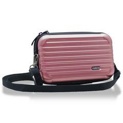 2way スーツケース 型 ローズゴールド