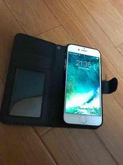 新品未使用iphone7アイフォン7カバー ブラックレザー ケース