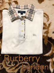 新品★Burberry London★可愛いポロシャツ★100円スタート!