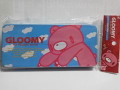 グルーミーブリキケース ブルー新品GLOOMY缶ケース