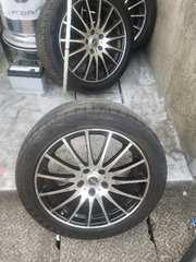 中古。タイヤ付きホイール18インチ7.5J4本