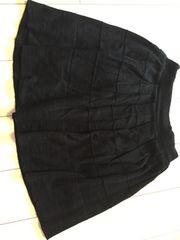 haco.FACTORY☆ブラック☆黒☆ニットスカート☆Sサイズ