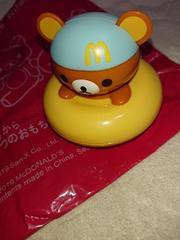 新品、リラックマ、玩具、おもちゃ、マクドナルド、1円、1スタ