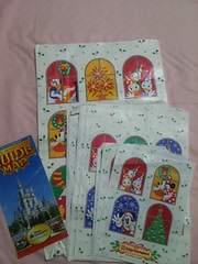 ディズニーランド、超レア紙袋&2001年パークマップ