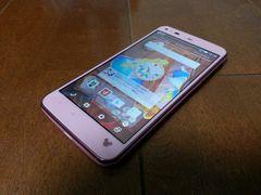 即落/即発!!超美品 SH-05F Disney Mobile ピンク