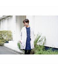 Kastane/カスタネ★とろみ素材のライトグレースプリングコート