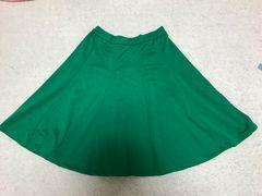 愛用品☆グリーンスカート