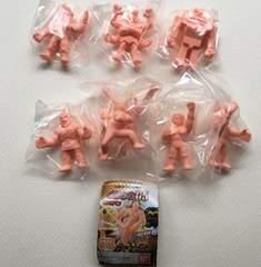 ◆キン肉マン キンケシ05 ペールオレンジver. 6種セット