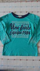 ハッシュアッシュ♪グリーンロゴ長袖シャツ♪120�p