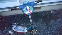 仮面ライダーブレイド キックボード バランスバイク 三輪車 剣