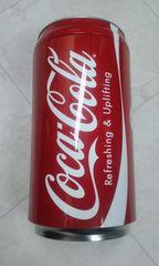 Coca-Cola非売品缶付ビーチサンダル未使用品Sサイズ
