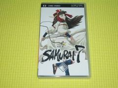PSP★サムライセブン 第三巻 UMD VIDEO