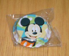 新品*ミッキーマウスビンフタバッチ・缶バッジ非売品