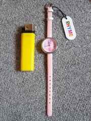 腕時計 ファッション時計 文字盤ピンクNo2定価980円