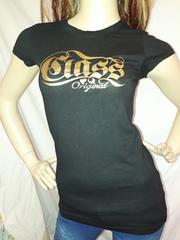 CLASS ロゴ ゴールド Tシャツ 黒 ブラック