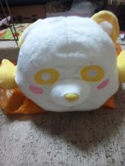 AAA え〜パンダ 寝そべりティッシュカバー黄色