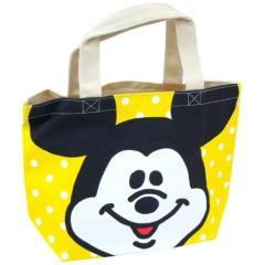 ディズニー【ラフスケッチ】可愛い♪お出かけ.小物入 マチ付ランチトートバッグ