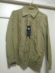ミッシュマッシュM新品タグつきレースブラウスシャツジャケット