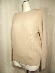 【GU】ベージュのセーターです