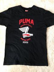 子供用プーマ 半袖ブラックTシャツ  150センチ