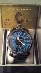 新品メンズデザイン腕時計★ClubFaceブランド★ブラック&ブルー