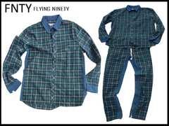 FNTY デニムウェア上下セット Flying Ninety XL/L