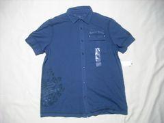 63 男 CK CALVIN KLEIN カルバンクライン 半袖シャツ Mサイズ
