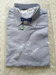 長袖ボタンダウンシャツ ブルー★140�p