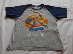 マリオカートプリントTシャツ(130/中古)