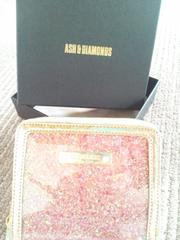 ASH&DIAMONDS アッシュ&ダイアモンド 二つ折り財布