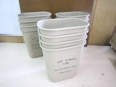 米軍放出 新品 ATSUGI ゴミ箱 ダストボックス