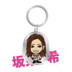 カレンダー2019Ver. メタルキーホルダー E.G.Family E-girls 坂東希 ガチャ