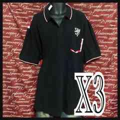 B級品・X3(5L)・ユニオンジャックプリントポロ新品/MCAd‐704