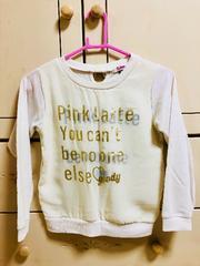 ☆Pink latte(ピンクラテ)・トレーナー・size xxs(140�p)☆
