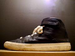 定番◆PIERREHARDY ピエールアルディ ベルクロ スニーカー 黒 42