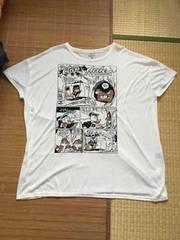 大きいサイズ・ディズニー・チップ&デール柄ビッグTシャツ