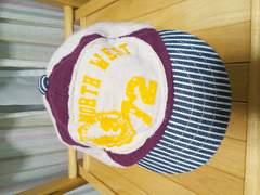 即決★80%off★ランピングユニバース★ロゴ帽子キャップ★44cm