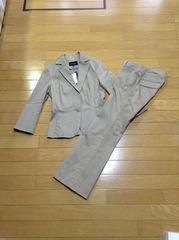 LE SOUK(ルスーク)ストライプスーツセットアップジャケット新品・パンツ超美品